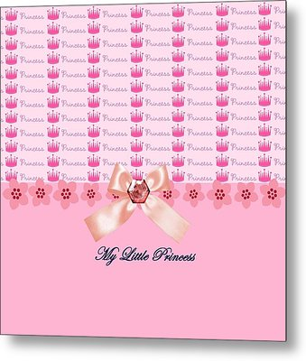 My Little Princess Metal Print