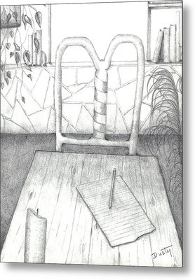 My Loft Metal Print by Dusty Reed