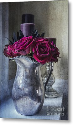 My Love Is Like A Red Red Rose Metal Print