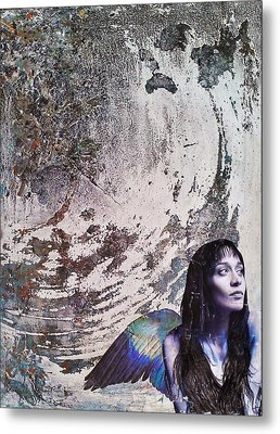 My Manic And I Metal Print by Megan Henrich