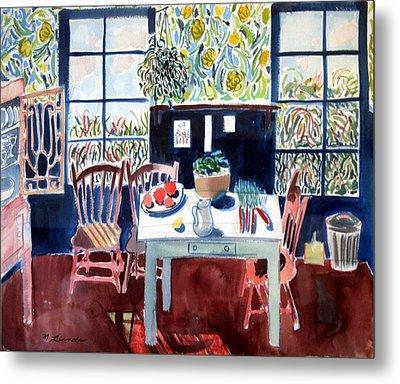 My Matisse Kitchen Metal Print