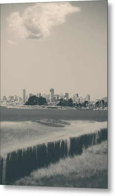 My Mind Knows No Quiet Metal Print by Laurie Search