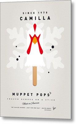 My Muppet Ice Pop - Camilla Metal Print by Chungkong Art