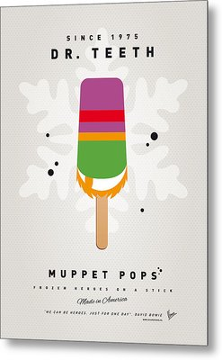 My Muppet Ice Pop - Dr Teeth Metal Print by Chungkong Art