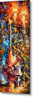 My Old Thoughts 2 Metal Print by Leonid Afremov