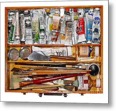 My Paint Box Metal Print