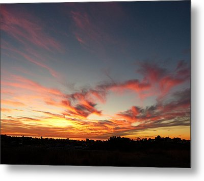 Metal Print featuring the photograph My Place Under The Sky by Janina  Suuronen