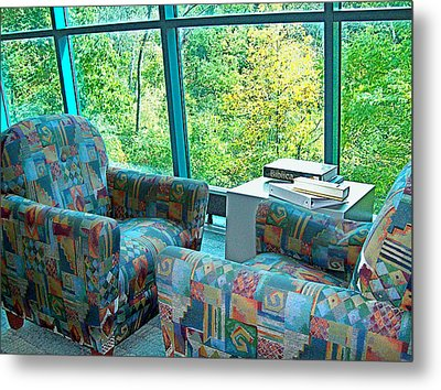 My Public Library Metal Print by MJ Olsen