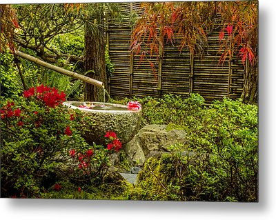 My Quiet Corner Metal Print