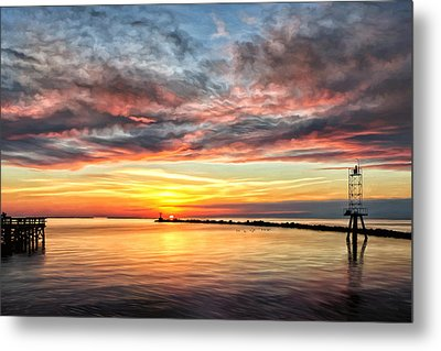 My Return To Cape Charles Virginia Metal Print