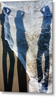 My Shadow Follows Me Metal Print by Betsy Knapp