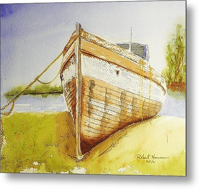 My Ship Came In Metal Print by Robert  ARTSYBOB Havens