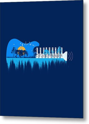 My Sound World Metal Print
