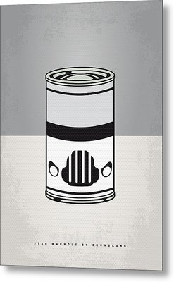 My Star Warhols Stormtrooper Minimal Can Poster Metal Print by Chungkong Art