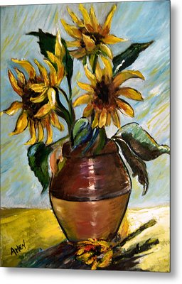 My Sunflowers Metal Print