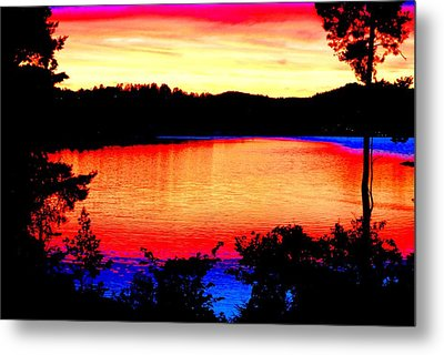 My Favorite Enjoy The Sunset Place  Metal Print by Hilde Widerberg