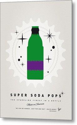My Super Soda Pops No-11 Metal Print by Chungkong Art