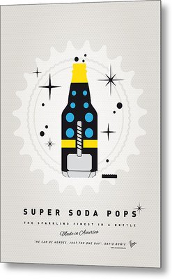 My Super Soda Pops No-22 Metal Print