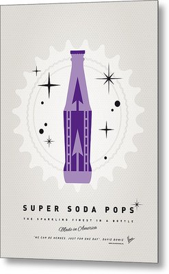 My Super Soda Pops No-25 Metal Print by Chungkong Art