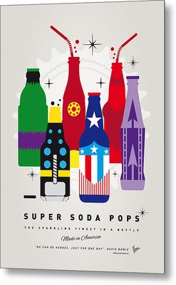My Super Soda Pops No-27 Metal Print by Chungkong Art