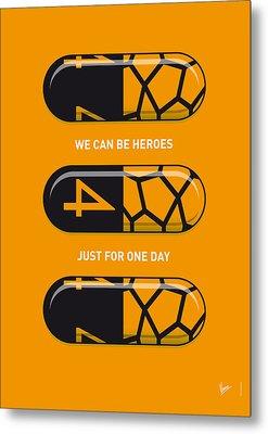 My Superhero Pills - The Thing Metal Print by Chungkong Art