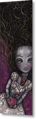 My Surrender Metal Print by  Abril Andrade Griffith