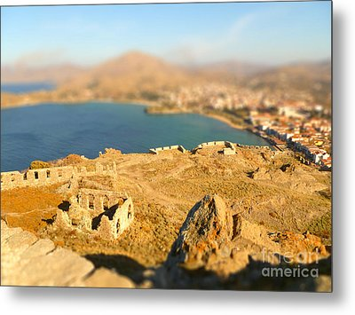 My Toy Castle Metal Print by Vicki Spindler