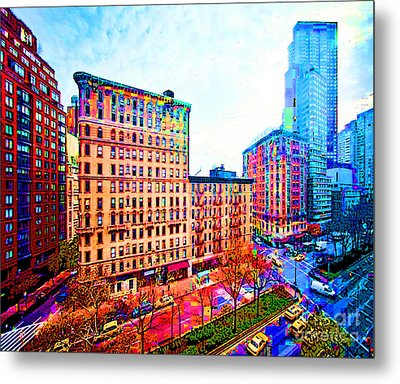 My View Nyc Metal Print