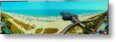 Metal Print featuring the photograph Myrtle Beach South Carolina by Alex Grichenko