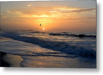 Myrtle Beach Sunrise Metal Print