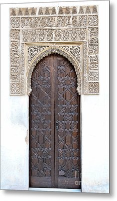 Myrtle Doorway Metal Print by Marion Galt