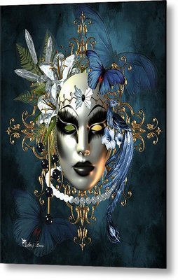 Mysteries Of The Mask 1 Metal Print