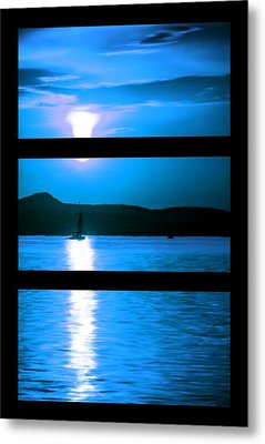 Mysterious Moonlight Metal Print by Bruce Nutting