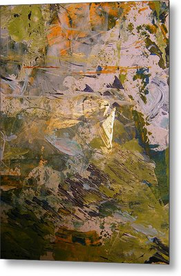 Metal Print featuring the painting Mystery 2 by Nancy Kane Chapman
