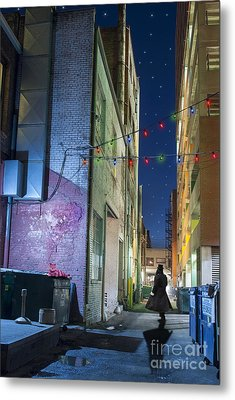 Mystery Alley Metal Print by Juli Scalzi