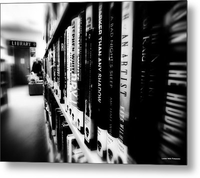 Metal Print featuring the photograph Mystery At The Library by Lucinda Walter