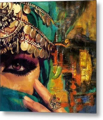 Mystery Metal Print by Corporate Art Task Force