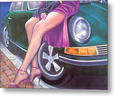 Mystery On Peter Porsche Metal Print