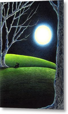 Mystery's Silence And Wonder's Patience Metal Print