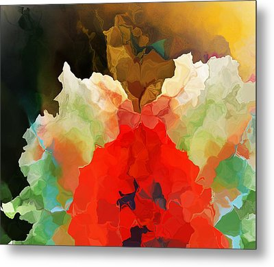 Metal Print featuring the digital art Mystic Bloom by David Lane