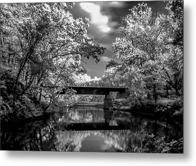 Metal Print featuring the photograph Mystic Cuyahoga by David Stine