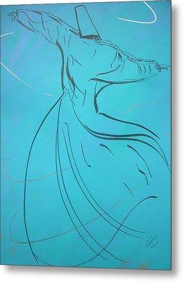 Mystic Dancer Parinda Metal Print