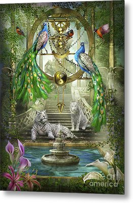 Mystic Garden Metal Print by Ciro Marchetti