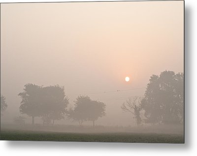 Metal Print featuring the photograph Mystic Landscape by Lana Enderle