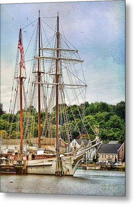 Mystic Seaport  Metal Print