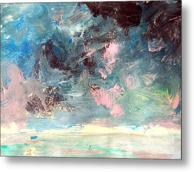 Mystic Skies Of Winter Metal Print by Trilby Cole
