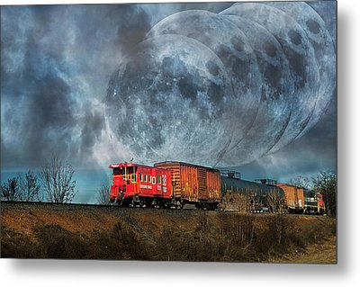Mystic Tracking Metal Print by Betsy Knapp