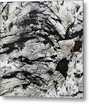 Metal Print featuring the painting Mystical - Abstract Art by Ismeta Gruenwald