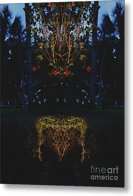 Mystical Bush Metal Print