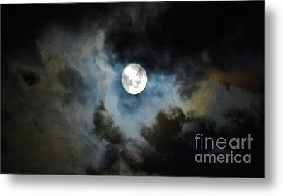 Mystical Clouds Metal Print